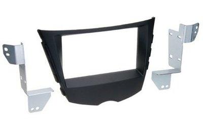 Incar (Intro) Переходная рамка Hyundai Veloster (FS) 11+ 2DIN (крепеж) (Incar RHY-N38)