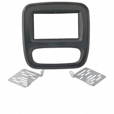 Incar (Intro) Переходная рамка Renault Trafic, Nissan Primastar, Opel Vivaro 15+ 2DIN (Intro RFR-N31)