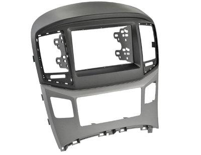 Incar (Intro) Переходная рамка Hyundai H1 Starex 16+ Silver 2DIN (Intro RHY-N47) (фото)