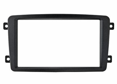 Incar (Intro) Переходная рамка Mercedes C-KLASS (W203) 00-04, VIANO 03-06, VITO до 06, CLK 2DIN (Incar RMB-C00W) (фото)