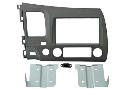 Incar 95-7871A | 2DIN переходная рамка Honda Civic 2005-2011 (темно-серая) (фото)