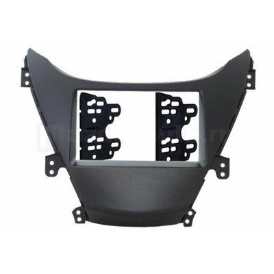 Incar (Intro) Переходная рамка Hyundai Elantra V 11+ 2DIN (крепеж) Incar RHY-N36 (фото)