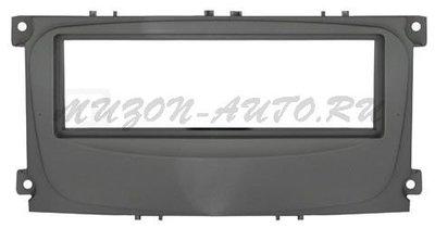 Incar (Intro) Переходная рамка Ford Focus 2 sony, S-Max 07+, Mondeo 07+, Galaxy new 1DIN black (Incar RFO-N11) (фото)