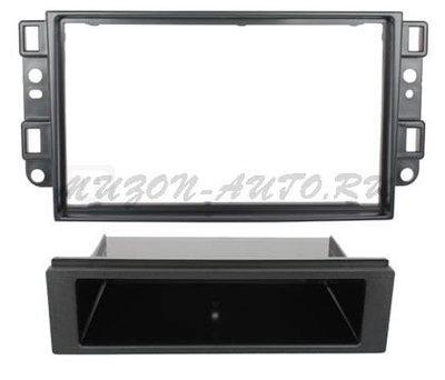 Incar (Intro) Переходная рамка 2/1 DIN Chevrolet Aveo, Captiva, Epica 06-11 (Incar RCV-N01) (фото)