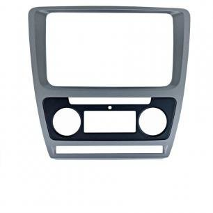 Incar (Intro) Рамка Skoda Octavia (A5) 04-13 для CHR-8676 Silver (Clima) Incar RSC-8676 A-SL (фото)