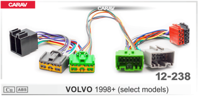 Carav ISO-переходник VOLVO 1998+ (выборочн. модели) (CARAV 12-238) (фото)