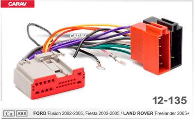 Carav ISO-переходник FORD Fusion 2002-2005, Fiesta 2003-2005 / LAND ROVER Freelander 2005+ (CARAV 12-135) (фото)
