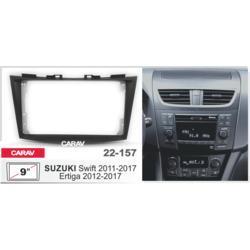 "Carav Carav 22-157   9"" переходная рамка Suzuki Swift 2011-2017, Ertiga 2012-2017"