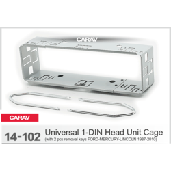 Carav Универсальная корзина для крепления 1DIN магнитолы (181 x 51) CARAV 14-102