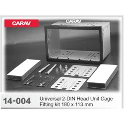 Carav Универсальная корзина для крепления 2-DIN магнитолы (180 x 113 mm) (CARAV 14-004)