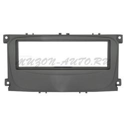 Incar (Intro) Переходная рамка Ford Focus 2 sony, S-Max 07+, Mondeo 07+, Galaxy new 1DIN black (Incar RFO-N11)