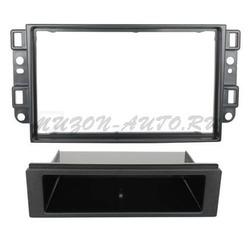 Incar (Intro) Переходная рамка 2/1 DIN Chevrolet Aveo, Captiva, Epica 06-11 (Incar RCV-N01)