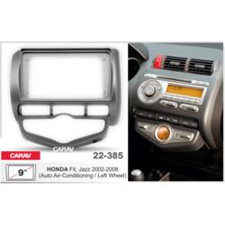 """Carav Carav 22-385   9"""" переходная рамка Honda Fit, Jazz 2002-2008 (руль слева, c климат-контролем)"""