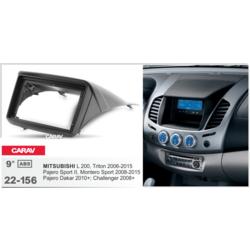 "Carav Carav 22-156   9"" переходная рамка Mitsubishi L 200,Triton 2006-2015, Pajero Sport 2008-2015"