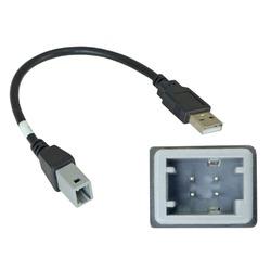 Incar (Intro) USB-переходник Incar USB TY-FC105 для TOYOTA 2019+ для подключения магнитолы INCAR к штатному разъему USB